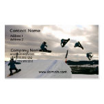 Snowboarding Tricks Business Card