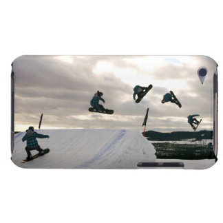 Snowboarding Tricks iTouch Case