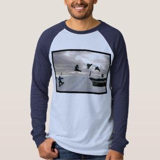 Snowboarding Tricks Men's Long Sleeve T-Shirt