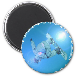 Snowboarding Tricks Pictures Magnet