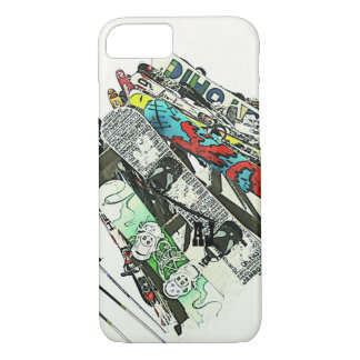 Snowboards iPhone 7 case