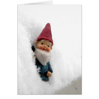 Snowbound Hector Greeting Cards