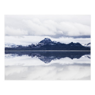 Snowcap Mountain Reflections Postcard