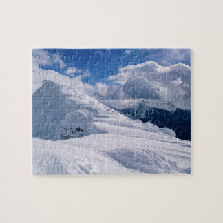 Snowcapped mountain jigsaw puzzle