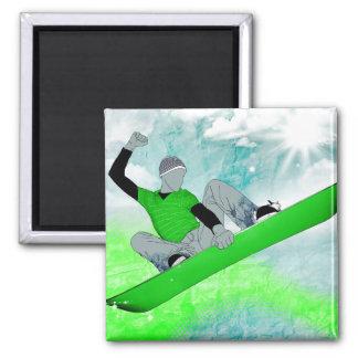 snowcore. 1. square magnet