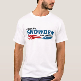 Snowden American Hero For President T-Shirt