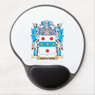 Snowdon Coat of Arms - Family Crest Gel Mouse Pads