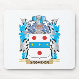 Snowdon Coat of Arms - Family Crest Mouse Pad