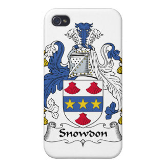 Snowdon Family Crest iPhone 4/4S Covers