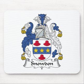 Snowdon Family Crest Mouse Pad