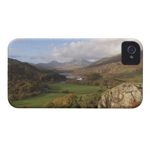 Snowdon from Capel Curig, Gwynedd, Wales (RF) Blackberry Bold Case