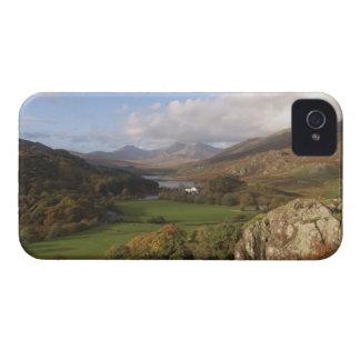 Snowdon from Capel Curig, Gwynedd, Wales (RF) iPhone 4 Case