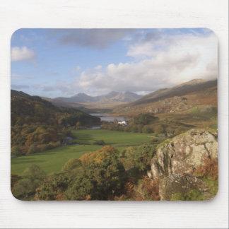 Snowdon from Capel Curig, Gwynedd, Wales (RF) Mouse Pad