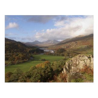 Snowdon from Capel Curig, Gwynedd, Wales (RF) Postcard