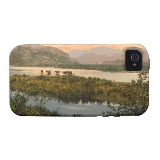 Snowdon from Glaslyn, Gwynedd, Wales iPhone 4 Cases