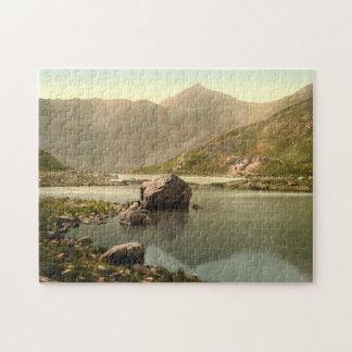 Snowdon from Llyn Llydaw, Gwynedd, Wales Jigsaw Puzzle