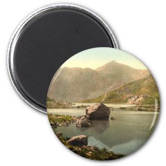 Snowdon from Llyn Llydaw Gwynedd Wales Fridge Magnet