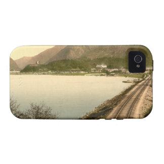 Snowdon from Llyn Padarn, Gwynedd, Wales iPhone 4 Cover