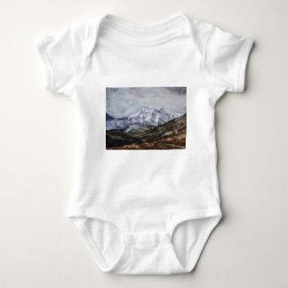 Snowdon Horseshoe in Winter.JPG Baby Bodysuit