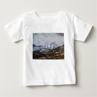 Snowdon Horseshoe in Winter.JPG Baby T-Shirt