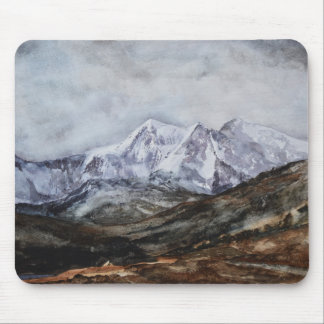 Snowdon Horseshoe in Winter.JPG Mouse Pad