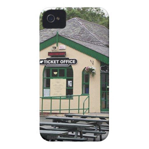 Snowdon Mountain Railway station, Wales, UK iPhone 4 Case-Mate Case