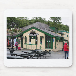 Snowdon Mountain Railway station, Wales, UK Mouse Pad