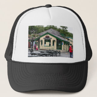 Snowdon Mountain Railway station, Wales, UK Trucker Hat