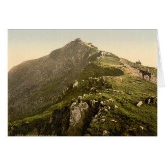Snowdon - The Last Mile, Gwynedd, Wales Card