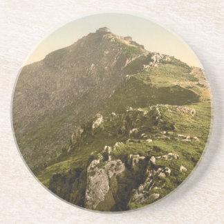 Snowdon - The Last Mile, Gwynedd, Wales Drink Coaster