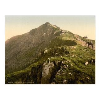 Snowdon - The Last Mile, Gwynedd, Wales Postcard