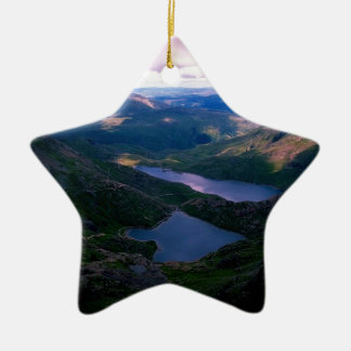 Snowdon Wales Christmas Ornament
