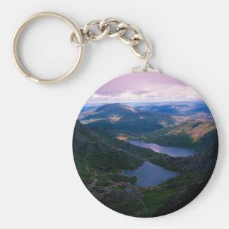 Snowdon Wales Keychain