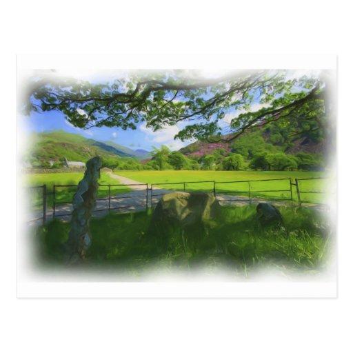 Snowdonia Views Postcard