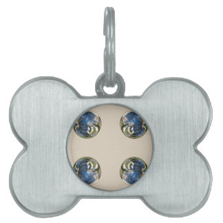 Snowdrop Globes Pet Name Tag