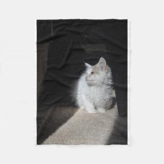 Snowdrop in a Sunbeam Fleece Blanket