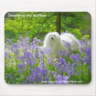 Snowdrop the Maltese Mouse Mat