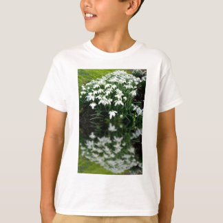 Snowdrops in reflection T-Shirt