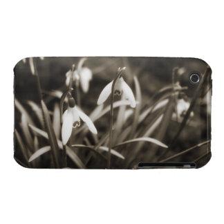 Snowdrops in Sepia Case-Mate iPhone 3 Case