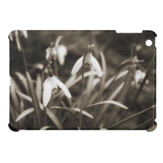 Snowdrops in Sepia Cover For The iPad Mini