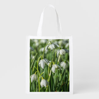 Snowdrops Reusable Grocery Bag