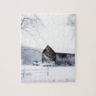 Snowed in Christmas Barn Puzzles