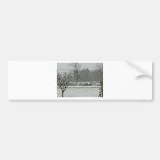 Snowfall Bumper Stickers