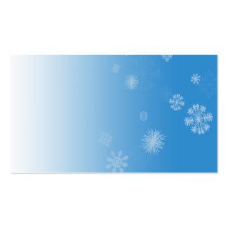 Snowfall Business Card Template