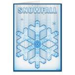 Snowfall Card