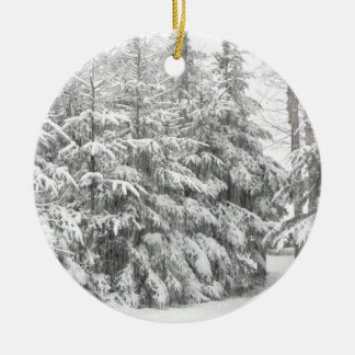Snowfall Ornament