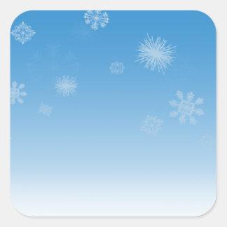 Snowfall Stickers