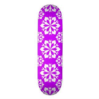 Snowflake 15 Purple Skate Board Deck
