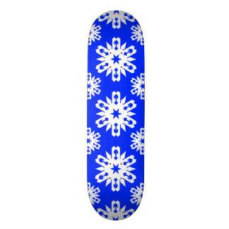 Snowflake 16 Blue Skate Decks