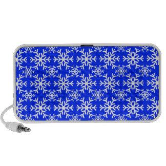 Snowflake 17 Blue Notebook Speaker